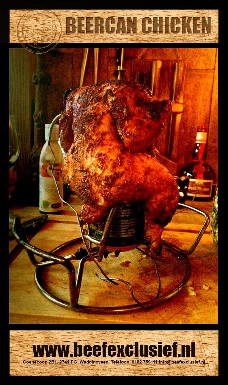 FREAKY FRIDAY CHICKEN ON A BEERCAN