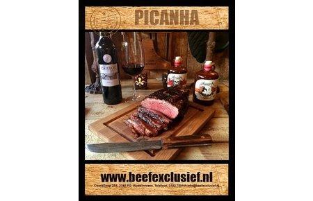 BeefEx Black Angus Beef - Graan gevoerd Picanha (staartstuk)