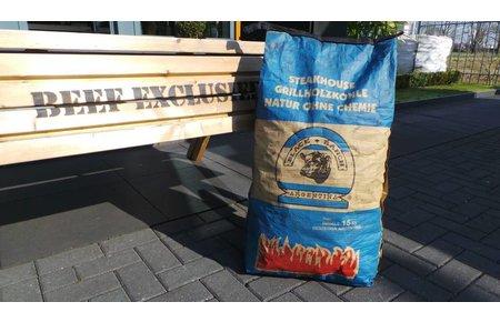 Black Ranch Steakhouse premium houtskool 15kg