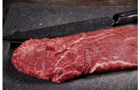 """BeefEx Black Angus Beef - Graan gevoerd Sukade """"gesplitst"""" (Flat Iron)"""