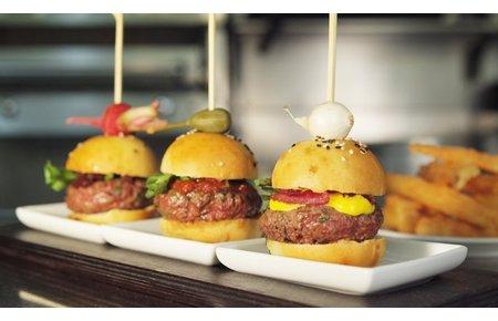 Mini BeefEx hamburgers