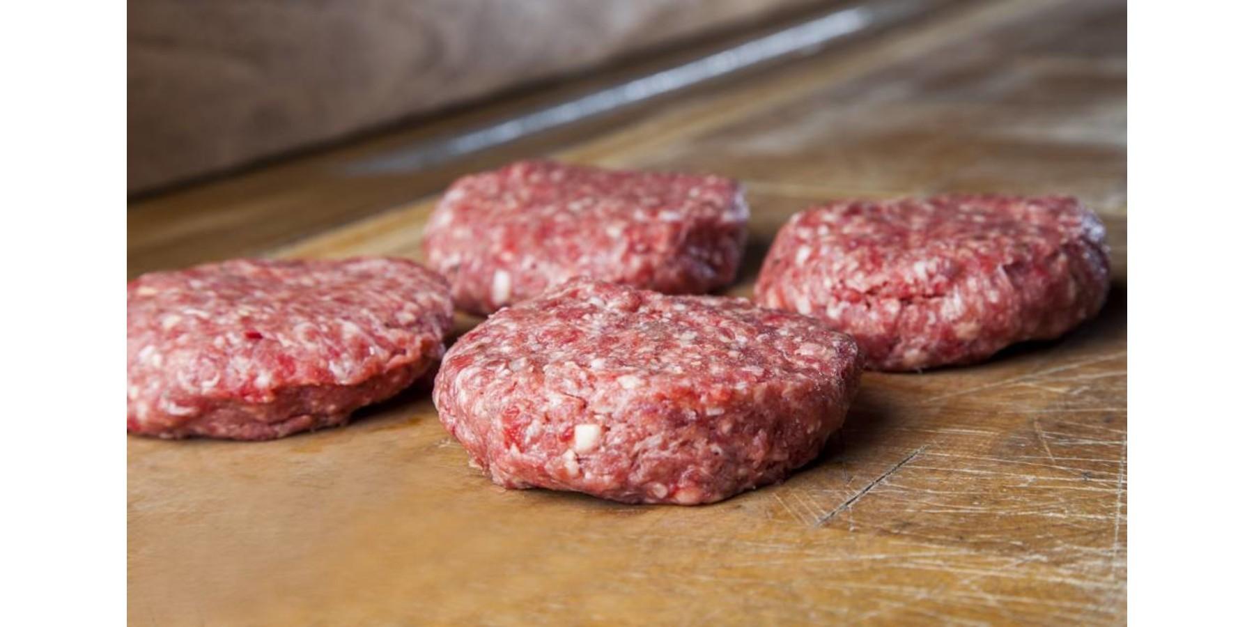 Hamburger pakket (4/8/12 stuks)