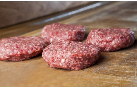 Waards rund Hamburger pakket (4/8/12 stuks)