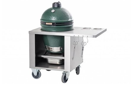 Big Green Egg RVS werktafel - Stainless steel unit