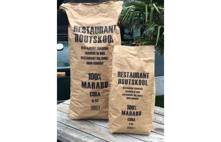 Dammers Marabu restaurant houtskool 15 kg