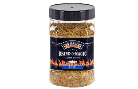 Don Marco's Barbecue Brine-o-magic vis