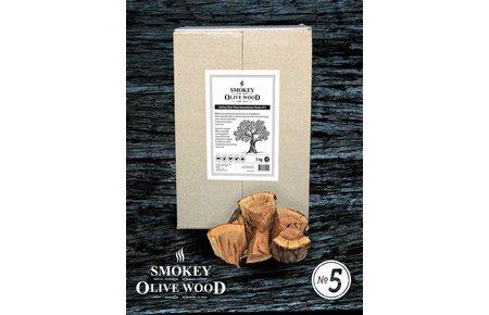 Smokey Olive Wood Sinaasappelhout Chunks No5