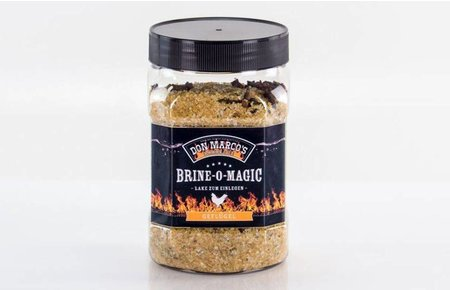 Don Marco's Barbecue Brine-o-magic gevogelte