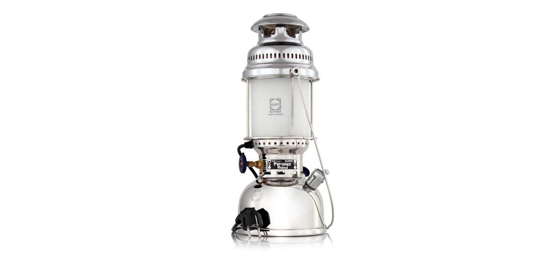 500 HK lamp petroleum chroom