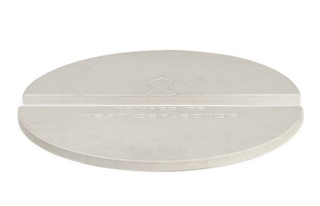 Kamado Joe Barbecue Half Moon Deflector Plate (Set of 2)