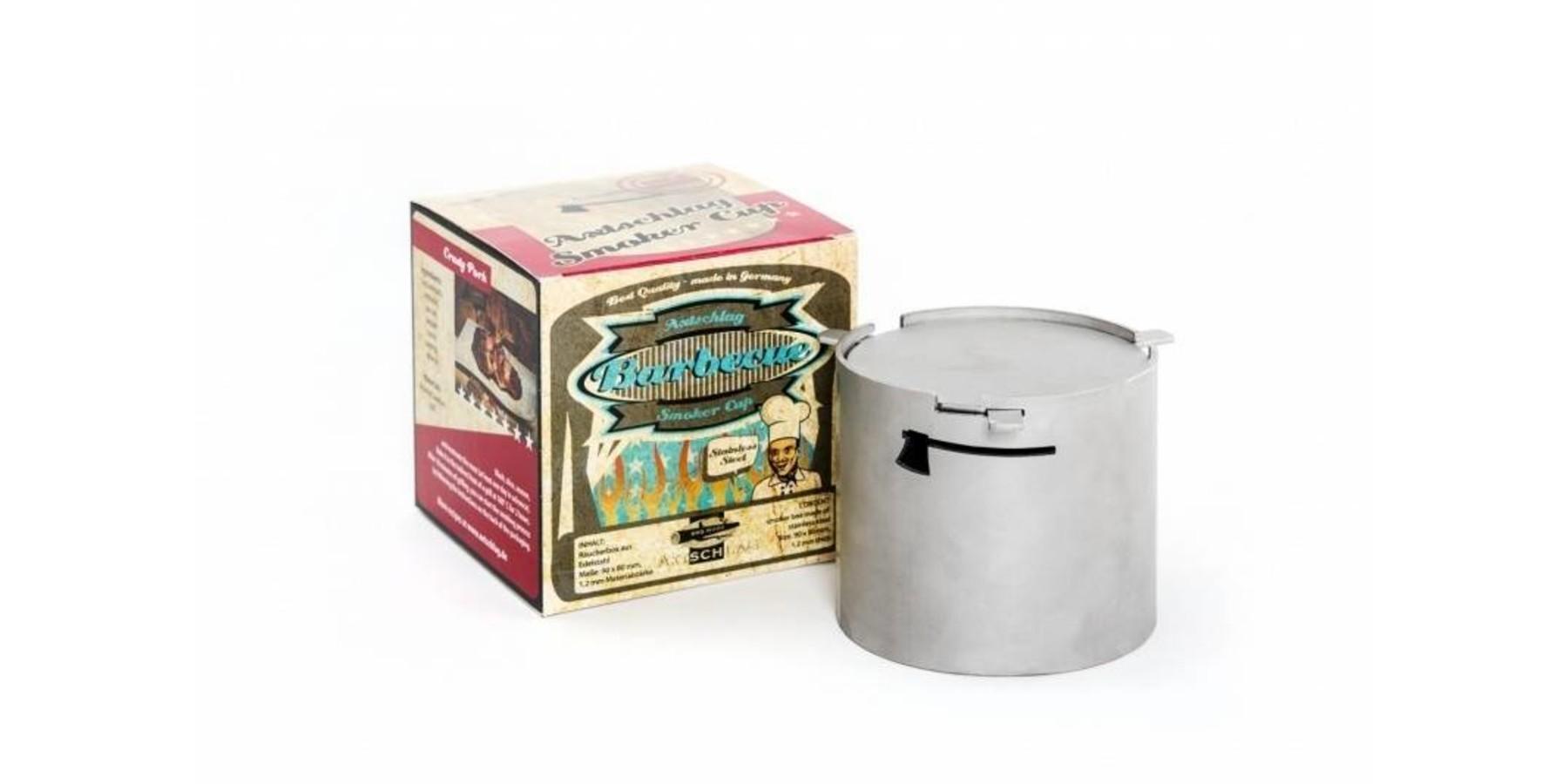 Heavy Duty RVS Smoker Pot