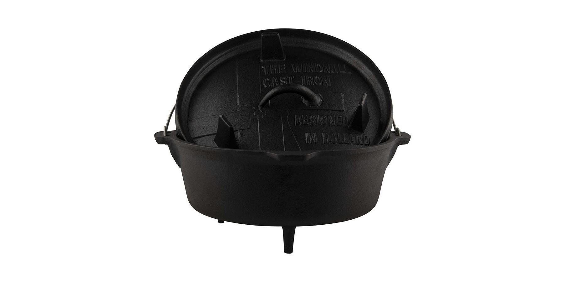 Dutch oven 6 quarts - met pootjes