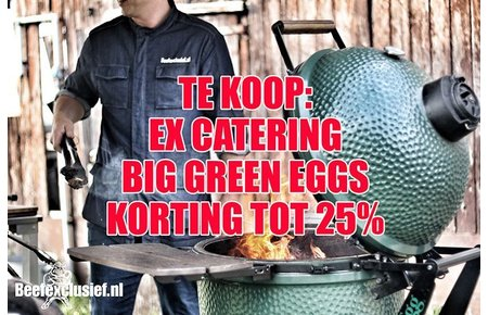 Big Green Egg Big Green Egg gebruikt