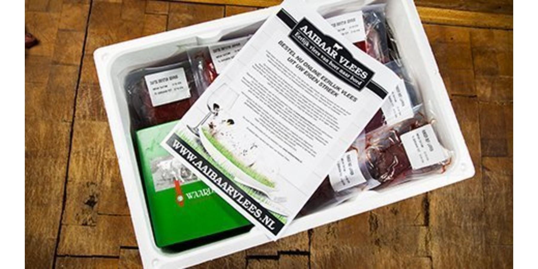 Waardse boerderij kip proef box 4