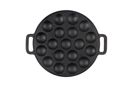 The Windmill - genuine dutch cast iron Gietijzeren poffertjes pan