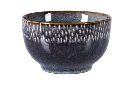 Stuff Design Bowl blue reactive glaze 14 cm