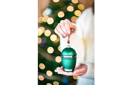 Big Green Egg Christmas Ornament