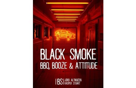 Smokey Goodness Black Smoke - Jord Althuizen en Kasper Stuart