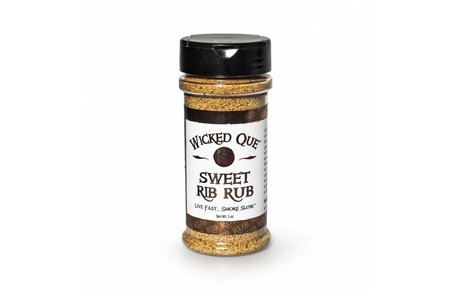 Wicked Q Sweet Rib Rub