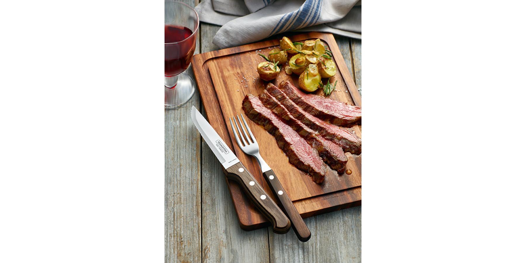 4 delig steak bestekset