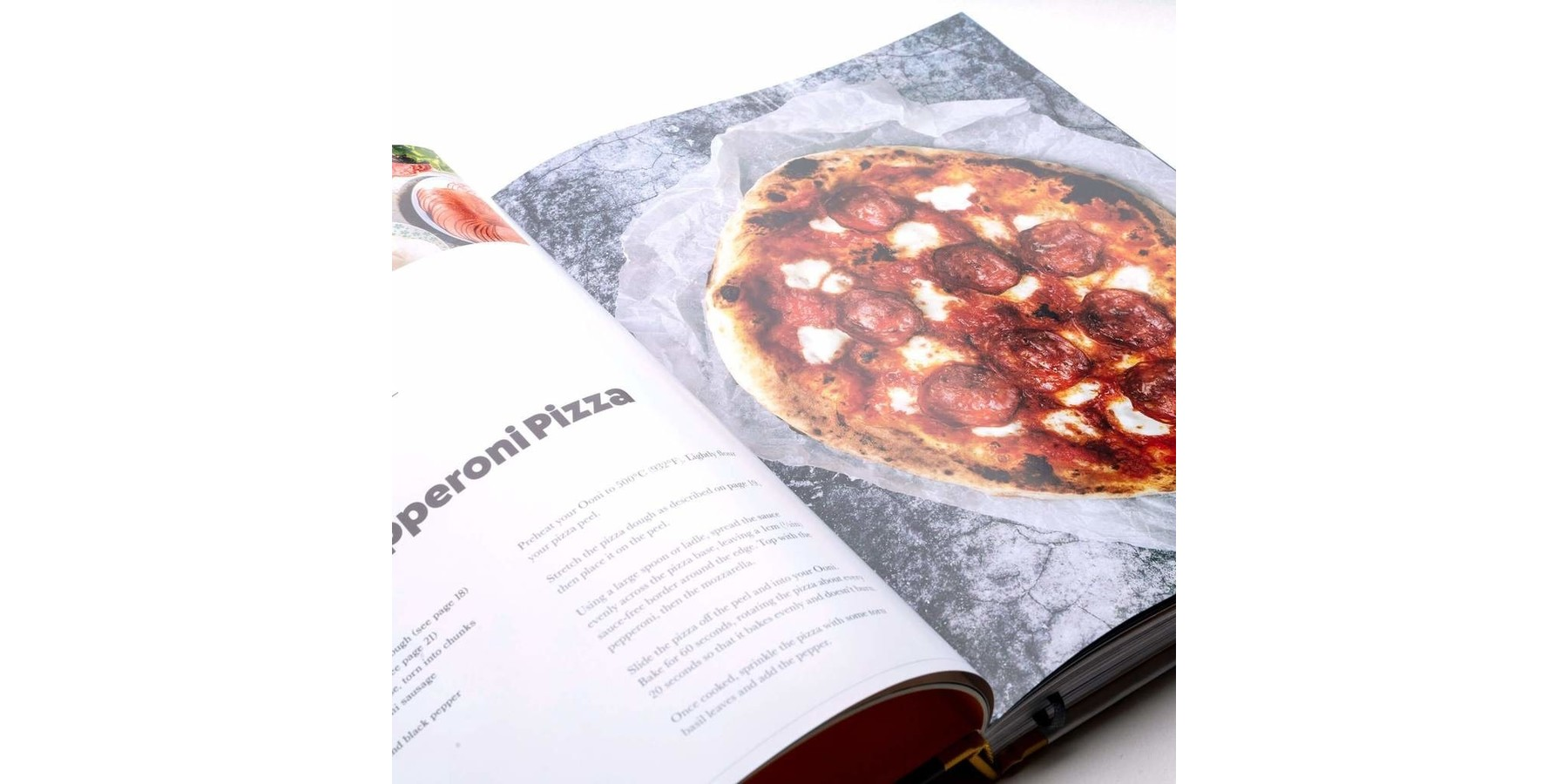 Pizzaboek: Cooking with fire