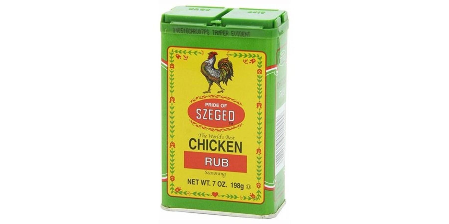 Chicken szeged rub