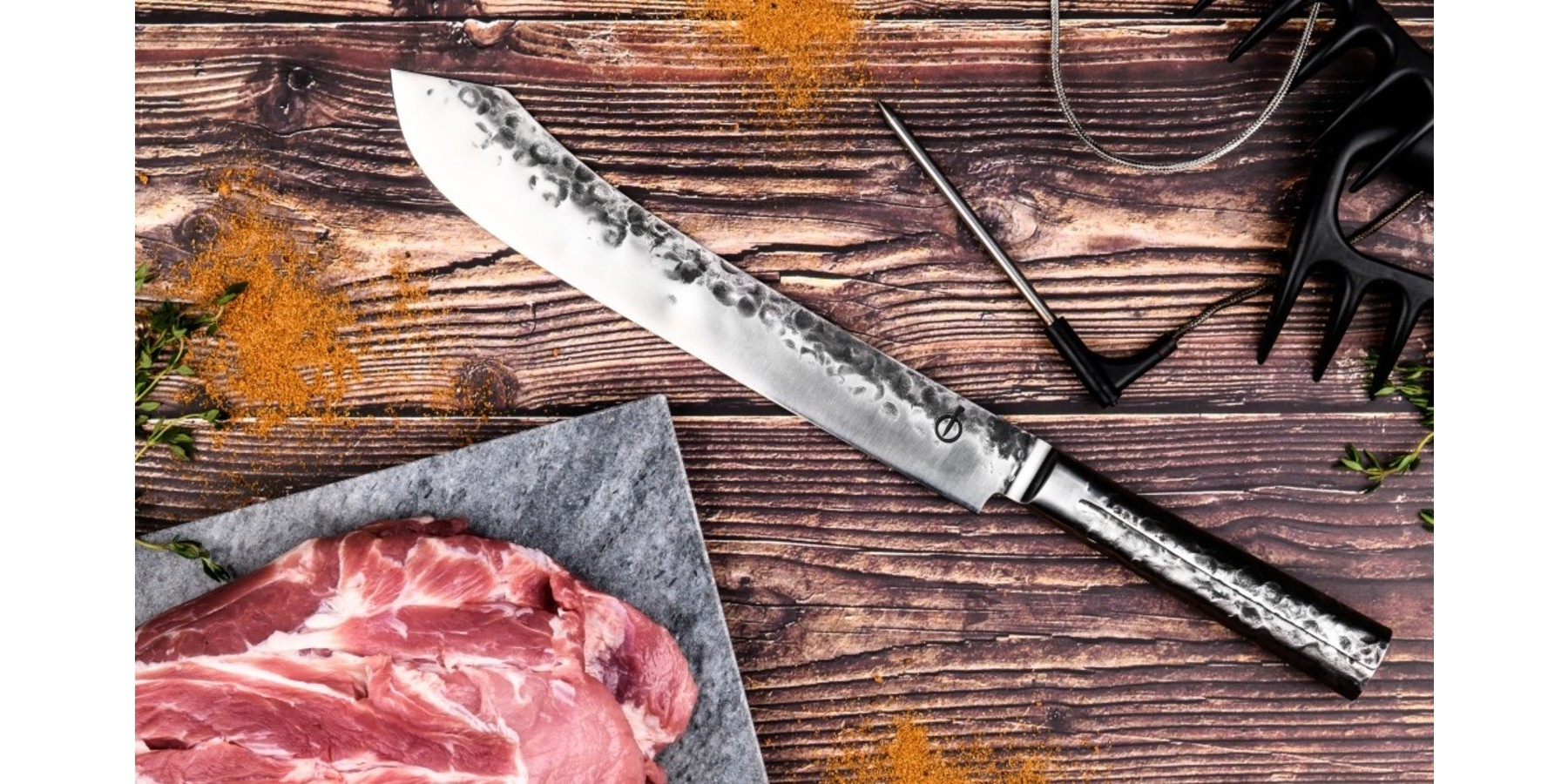 Intense Forged Butcher knife