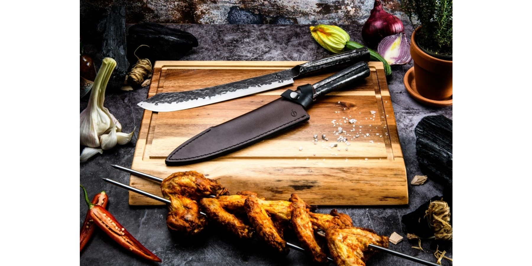 Brute Forged Butcher knife