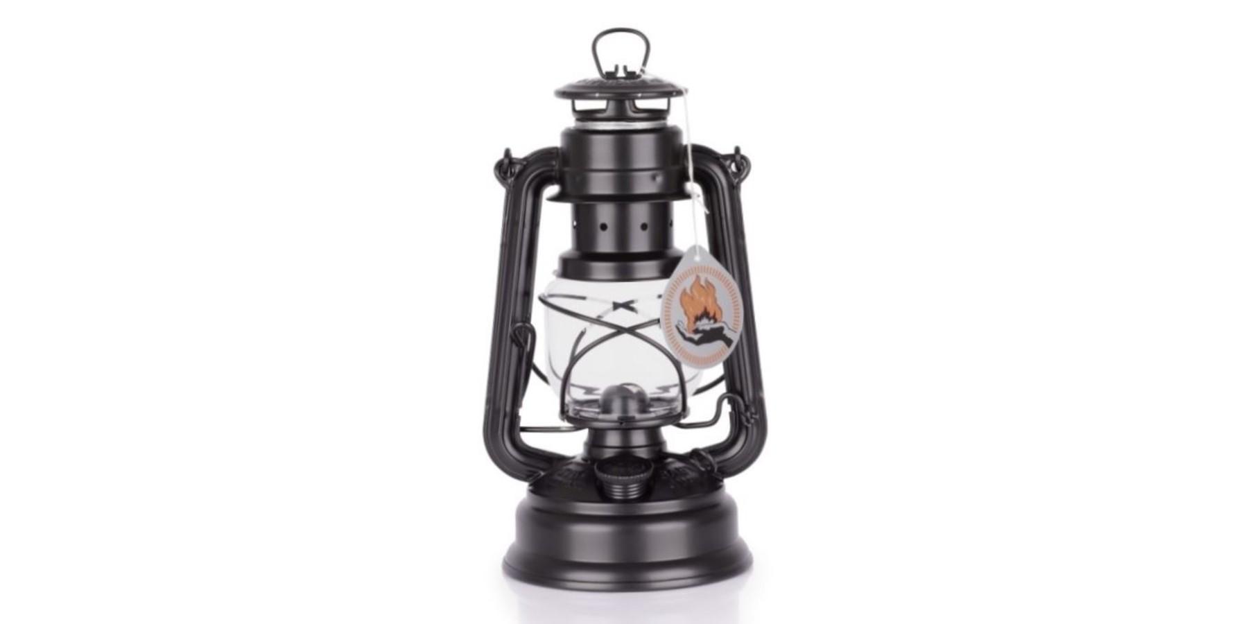 Feuerhand 276 Mat zwart Petroleumlamp