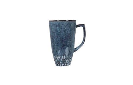 Stuff Design Mok of mug reactive blue 13 cm