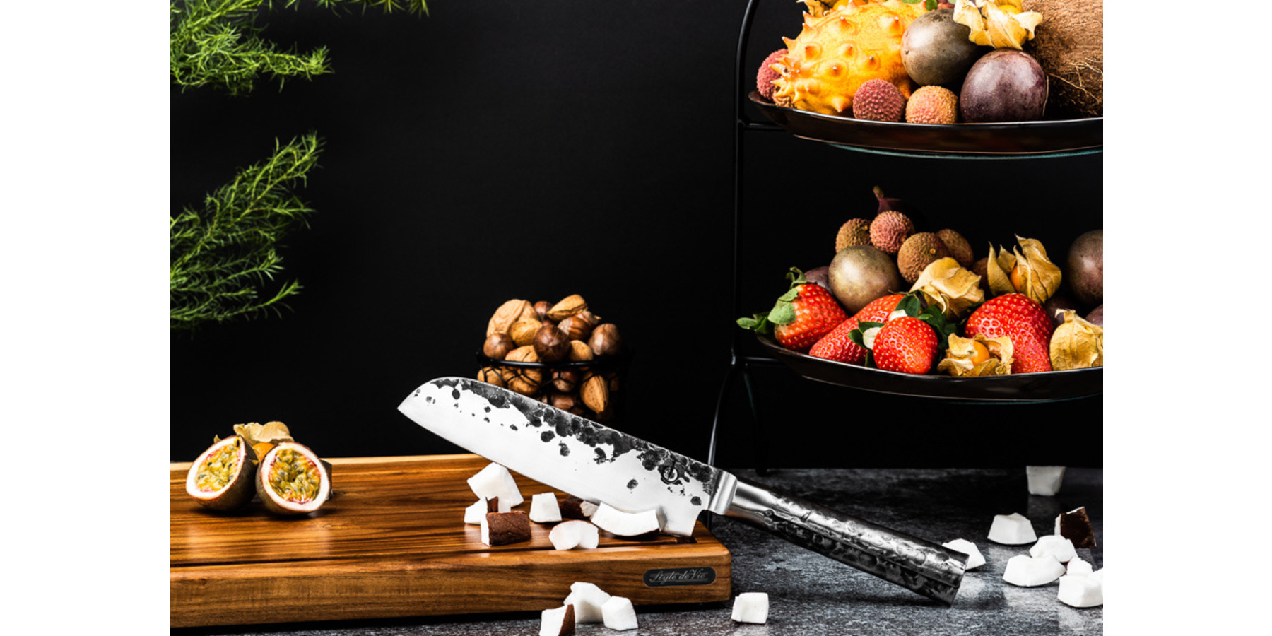 Intense Forged Santoku mes