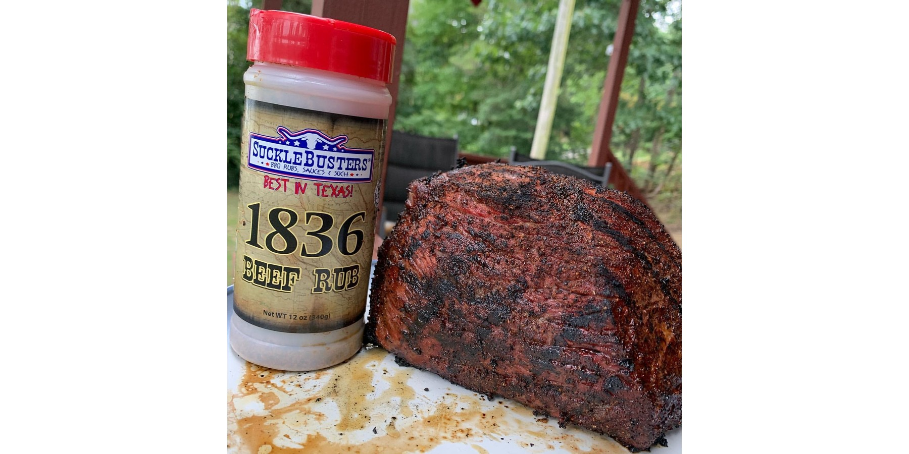 1836 Beef en Steak rub