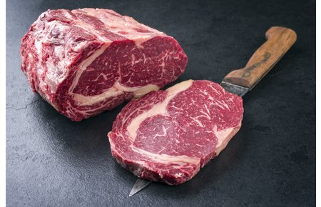 Wagyu Beef Rib Eye steak - MBS 3- 5