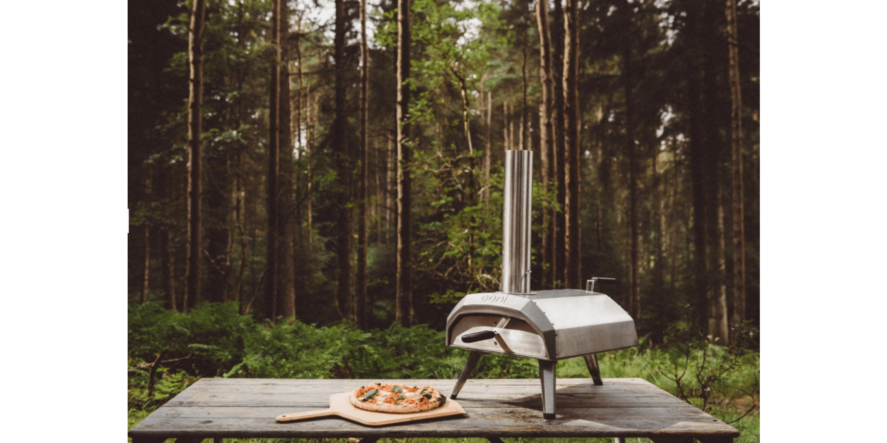 Karu Wood and Charcoal-Fired Portable Pizza Oven