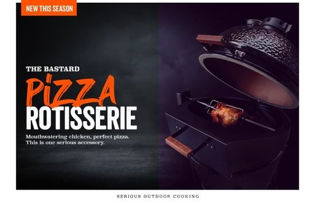 The Bastard Rotisserie - pizza