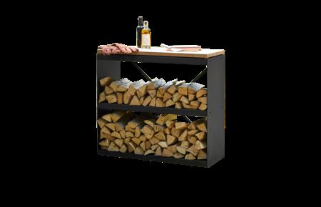 OFYR Wood storage Black Dressoir