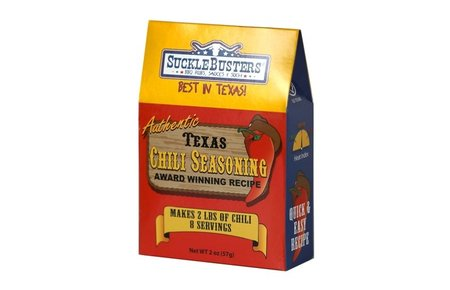 SuckleBusters Texas Style Chili Seasoning kit