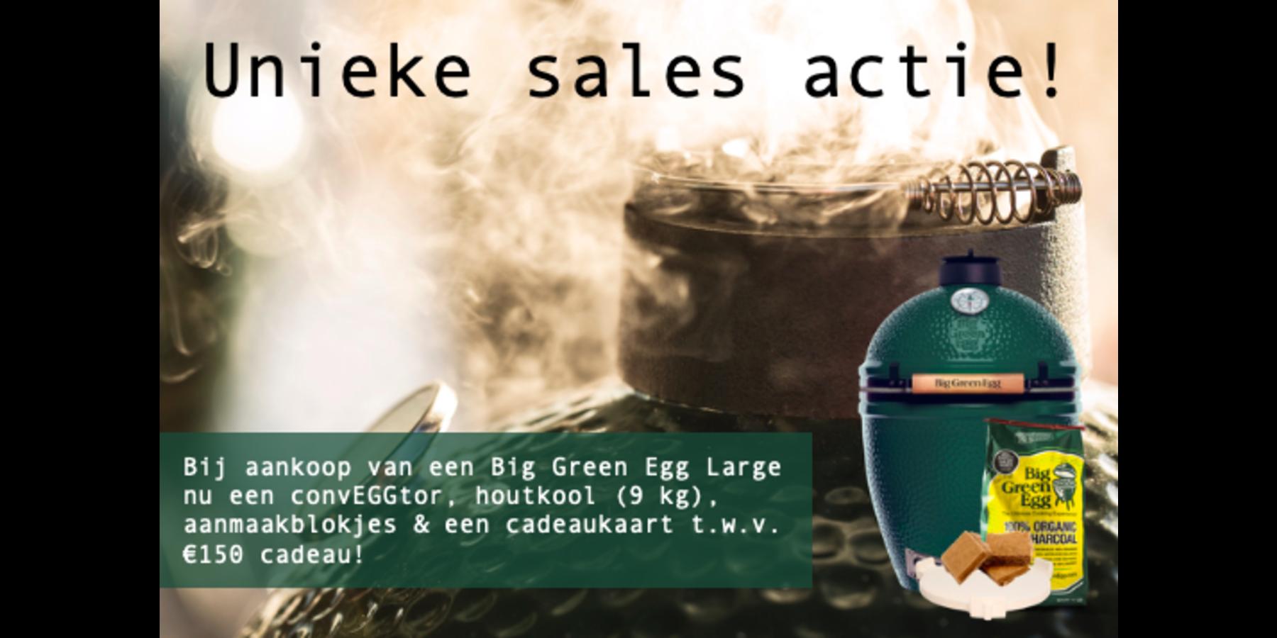 Unieke sales actie BGE Large