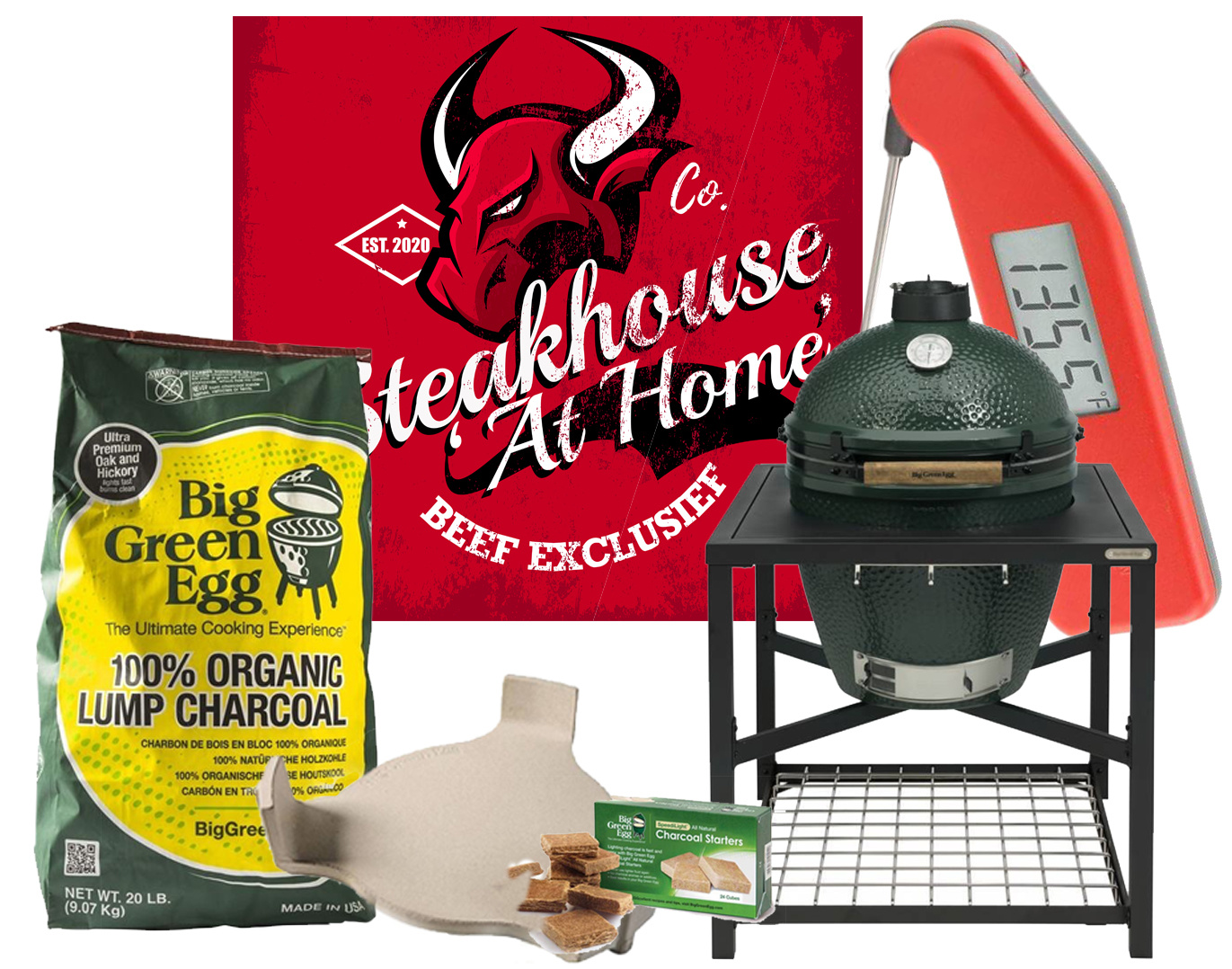 BIG GREEN EGG ACTIES