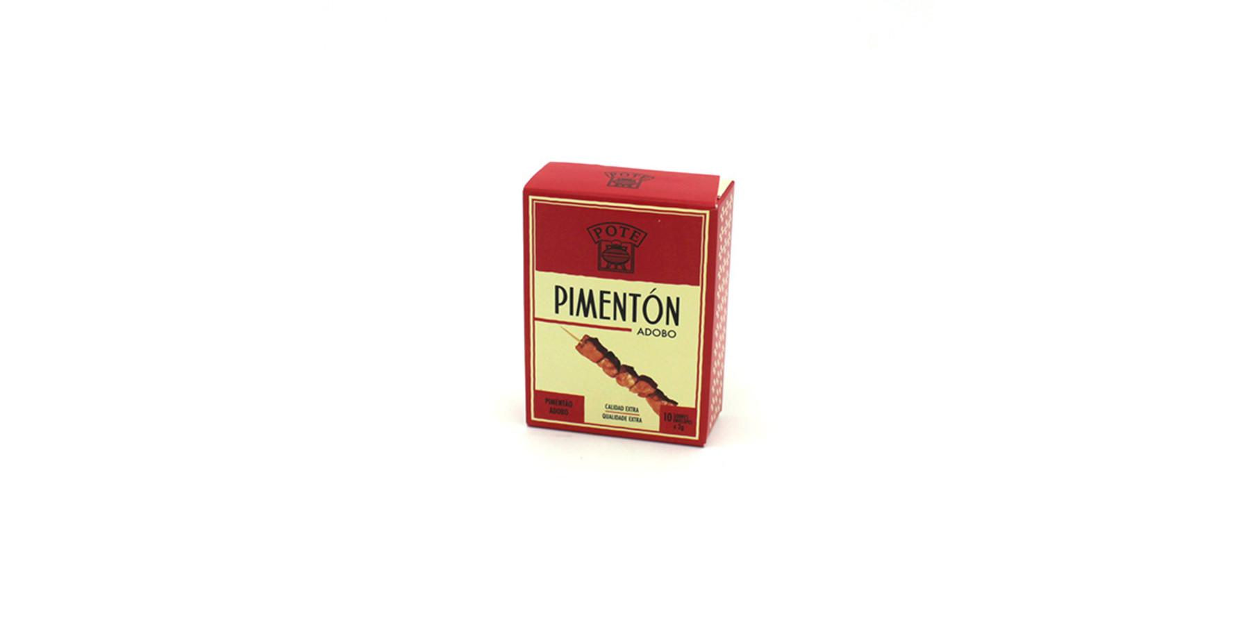 Pimentón adobo, 10 zakjes
