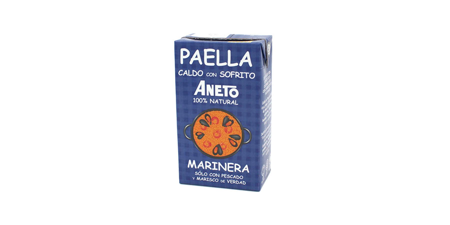 Paella Marinera bouillon