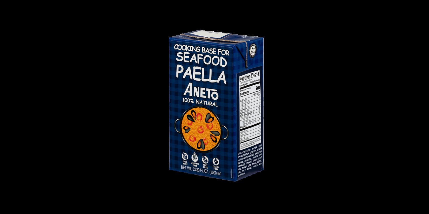 Paella Seafood bouillon
