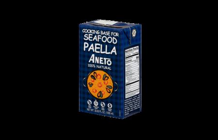 ANETO PAELLA Paella Seafood bouillon