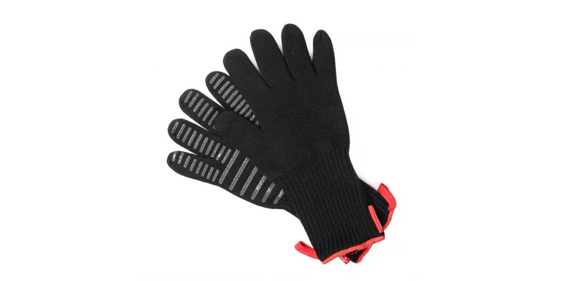 Premium handschoenen zwart 33cm