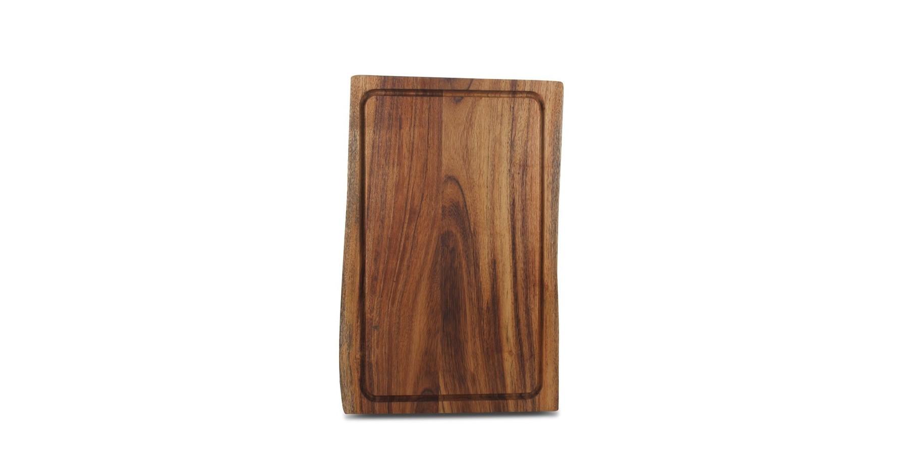 Board RAW 25x40 cm oiled Acacia