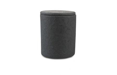 Stuff Design Pot w/lid 11 cm Black