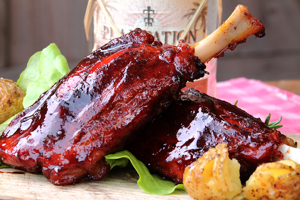 Sticky Pig Wings