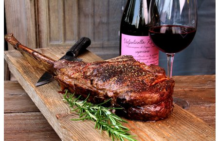 BeefEx - Black Angus Beef Tomahawk steak
