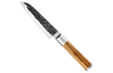 Forged Olive Forged Santoku knife 14 cm