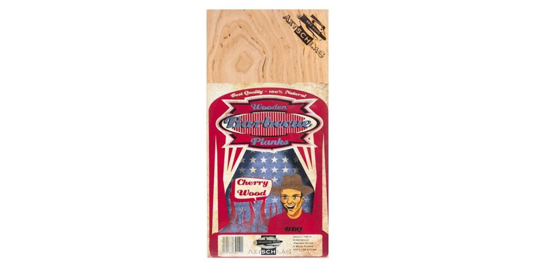 Cherry wooden planks